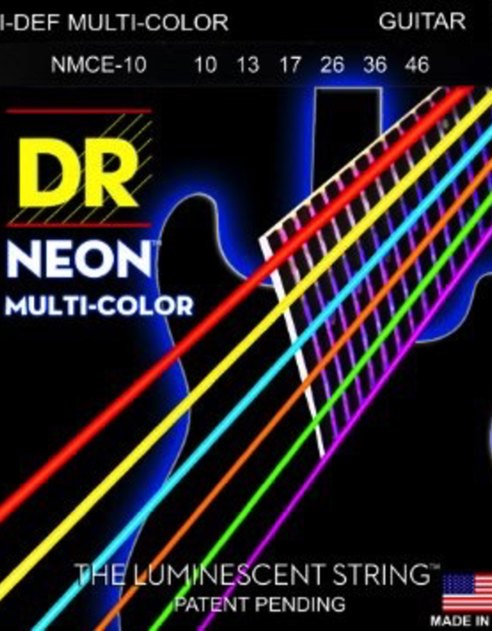 DR DR Neon Electric Guitar Strings