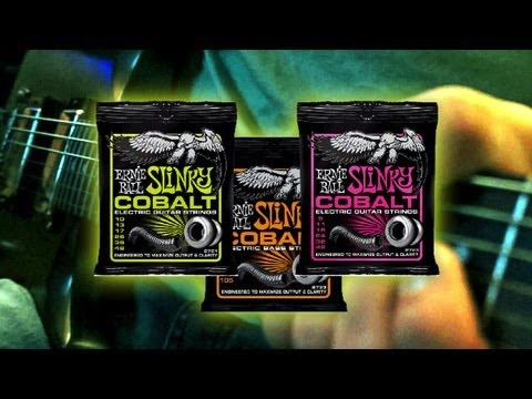 Ernie Ball Ernie Ball Cobalt 5-String Bass Set
