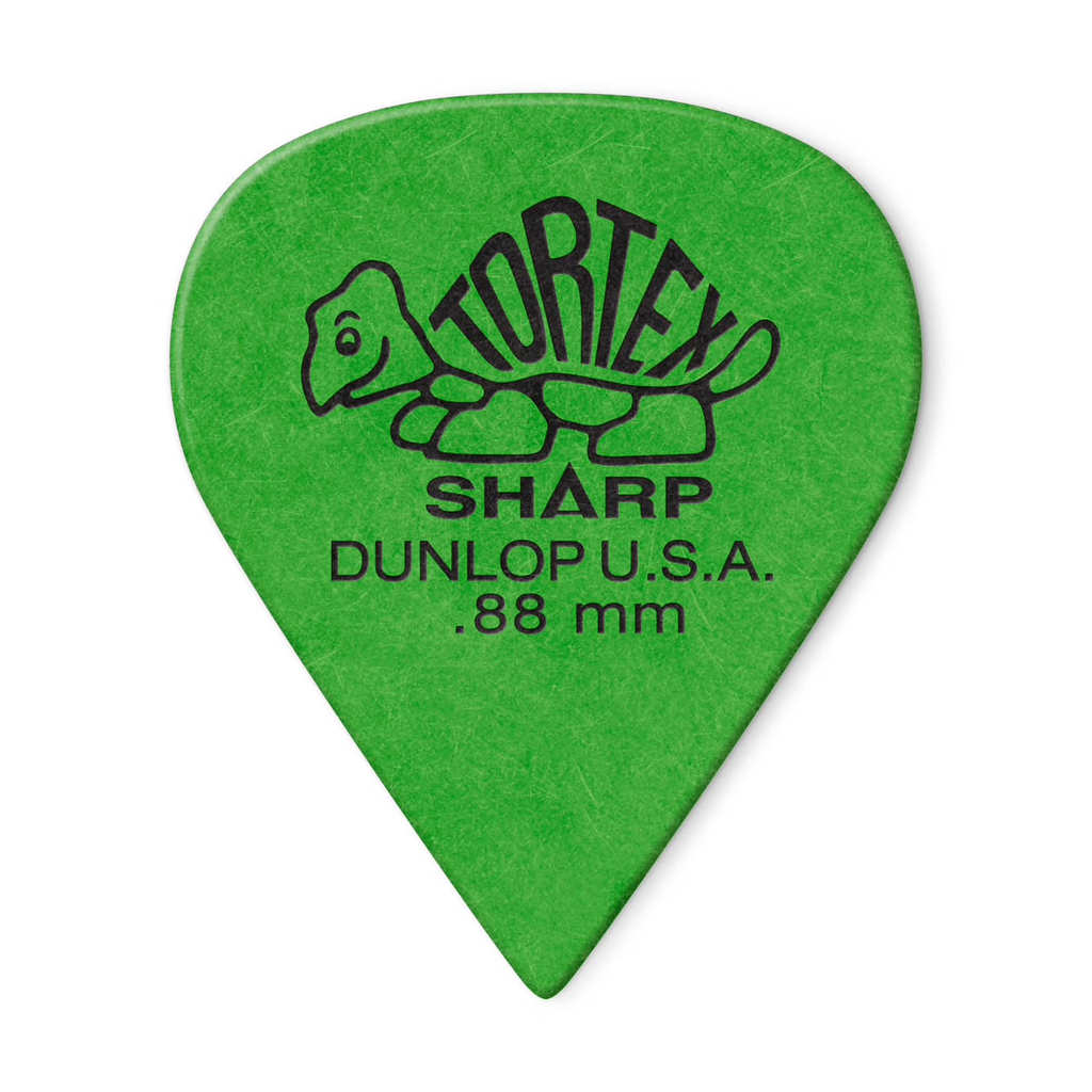 Dunlop Dunlop Tortex Sharp .88mm Pick - 12 Pack