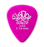 Dunlop Dunlop Delrin 1.14mm Pick - 12 Pack