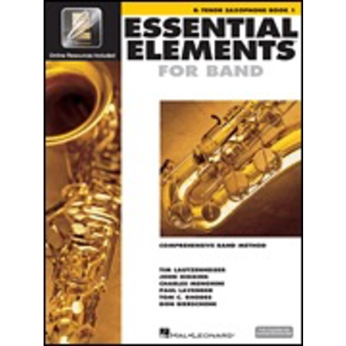 Hal Leonard Hal Leonard Essential Elements for Band – Book 1 with EEi Bb Tenor Saxophone
