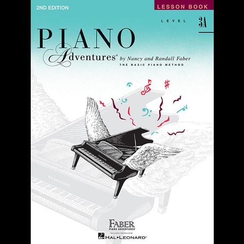 Faber Hal Leonard Faber Piano Adventures Level 3A - Lesson Book