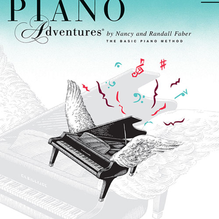 Hal Leonard Faber Piano Adventures Level 3A - Lesson Book