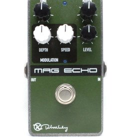 "Keeley Keeley Magnetic Echo Delay / Vintage ""Tape Echo"" Style Delay with Modulation and Rate LED"