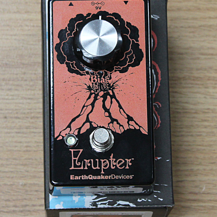 EarthQuaker Devices EarthQuaker Devices Erupter Perfect Fuzz