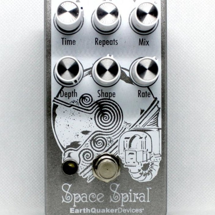 EarthQuaker Devices EarthQuaker Devices Space Spiral Modulated Delay Pedal