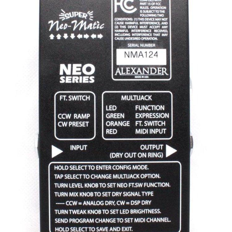 Alexander Alexander Super Neo-Matic