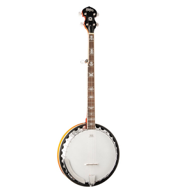 Washburn Washburn B10-A 5-String w/Fancy fretboard inlay Banjo in Sunburst Gloss