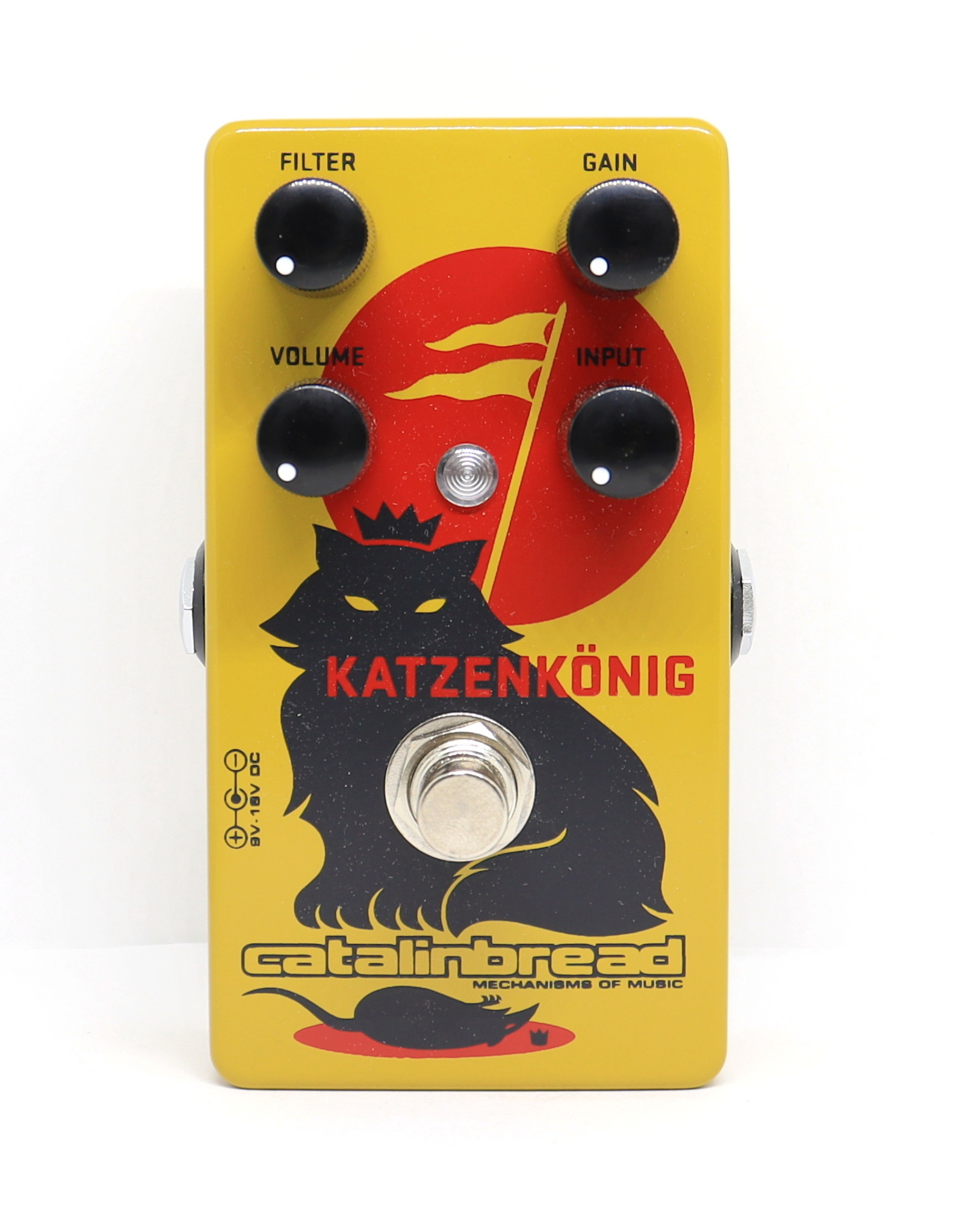 Catalinbread Catalinbread Katzenkönig® (Tone Bender MKII meets RAT)