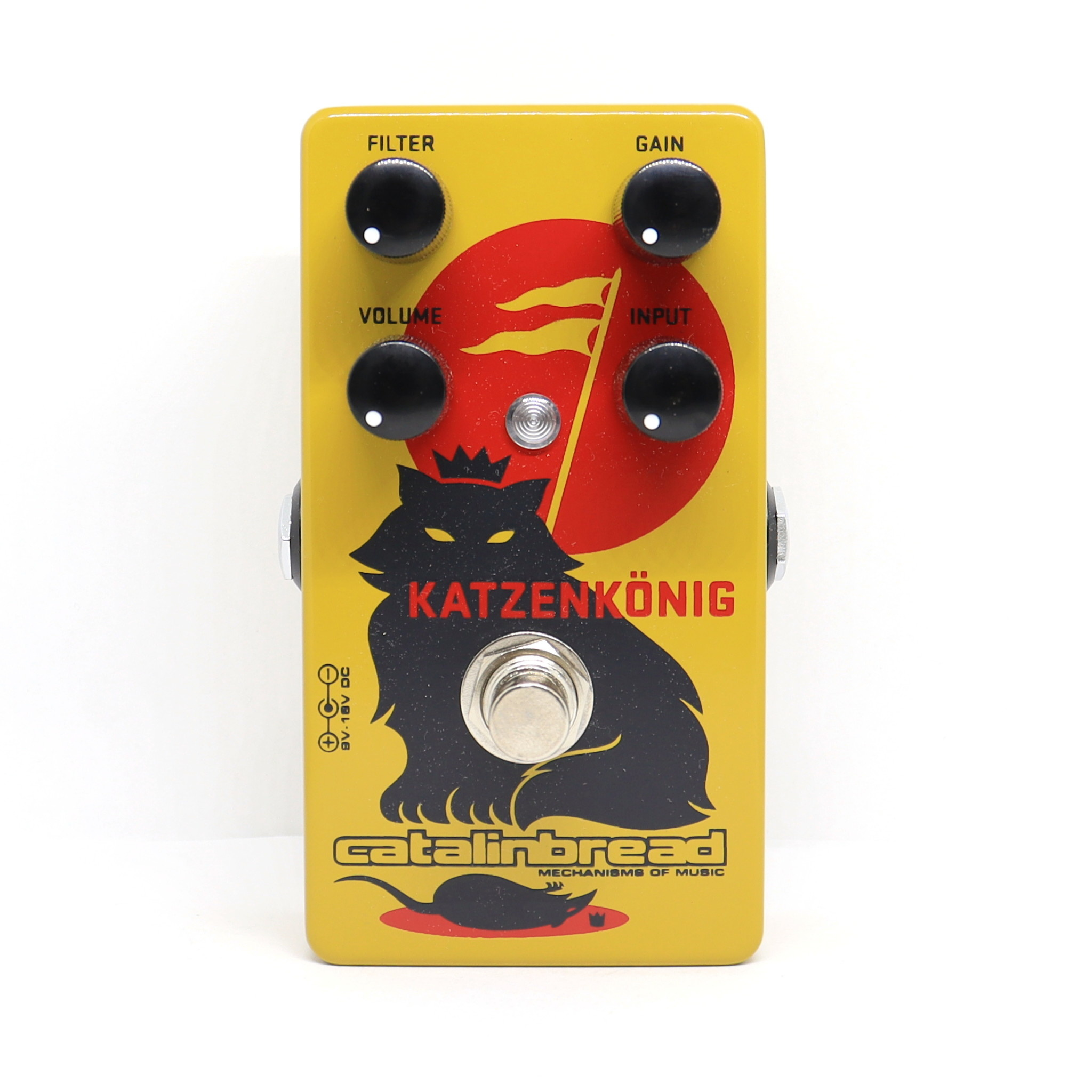Catalinbread Catalinbread Katzenkönig® (Tone Bender MKII meets RAT)