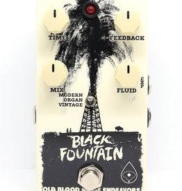 Old Blood Noise Endeavors Old Blood Noise Endeavors Black Fountain Oil Can Delay Pedal