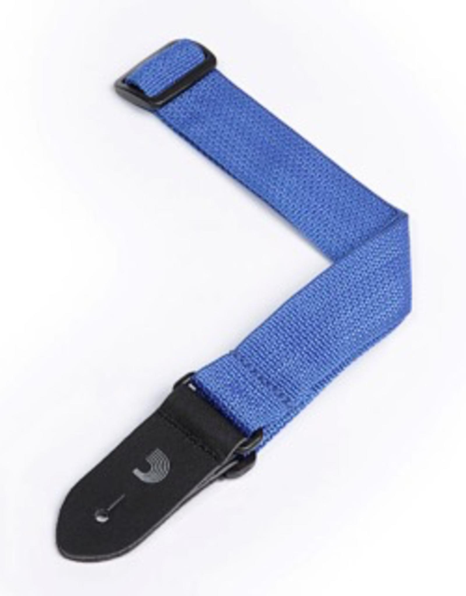 D'Addario D'Addario Polypropylene Ukulele Strap, Blue