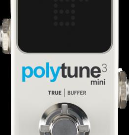 TC Electronic TC Electronic PolyTune 3 Mini Chromatic Tuner Pedal