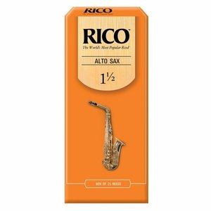 Rico OPEN BOX DISCOUNT Rico Alto Sax #1.5 Reeds — 17 Reeds