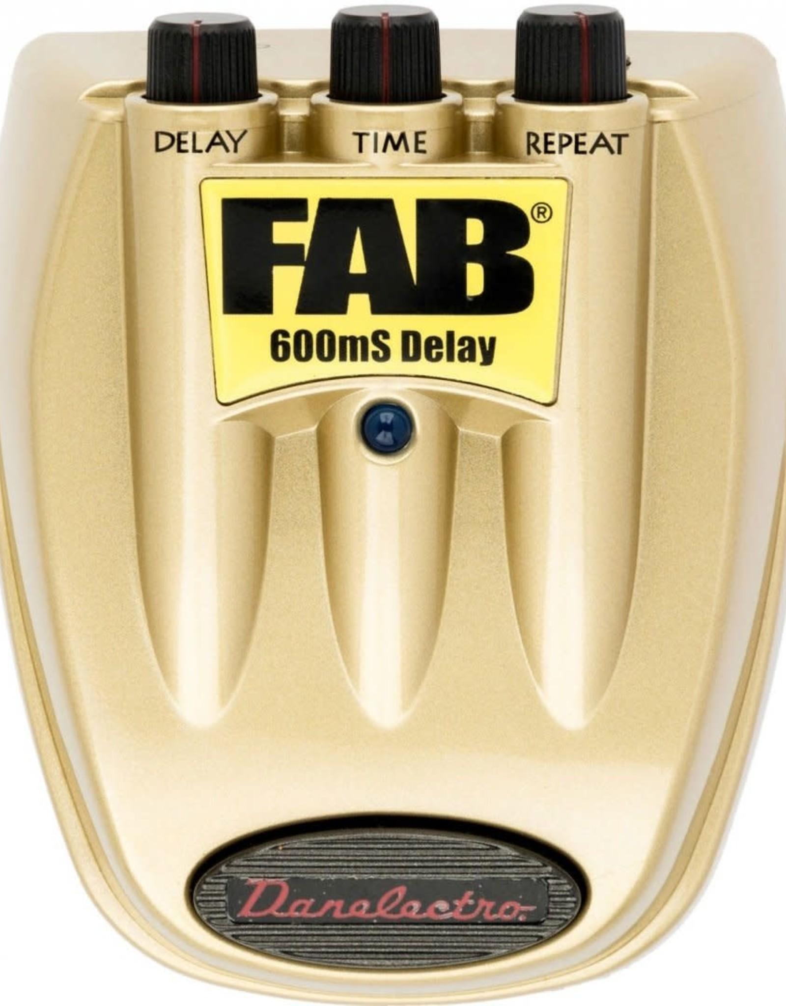 Danelectro Danelectro - FAB 600MS Delay Pedal