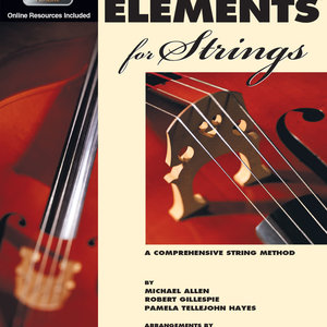 Essential Elements for Strings - Double Bass, Book 1, with EEi