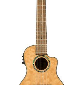 Lanikai Lanikai Quilted Maple Natural Stain Concert Acoustic/Electric Ukulele w/gig bag