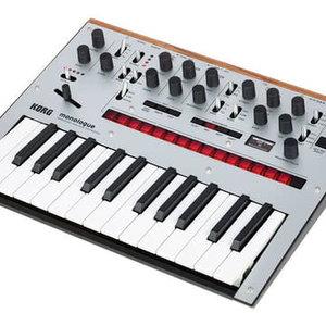 Korg Korg monologue Monophonic Analogue Synthesizer - Silver
