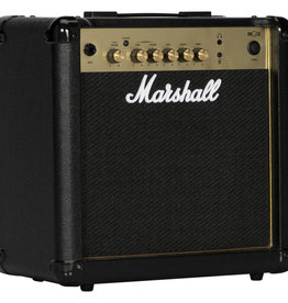 "Marshall Marshall MG15GR - 1x8"" 15 Watt Combo w/2-Channels, Reverb, & MP3 Input"