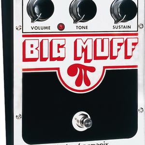 Electro-Harmonix Electro-Harmonix Big Muff Pi (Classic) - Distortion/Sustainer Battery included, 9.6DC-200 PSU optional