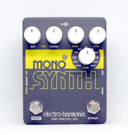 Electro-Harmonix Electro-Harmonix Mono Synth - Guitar Monophonic Synthesizer, 9.6DC-200 PSU included