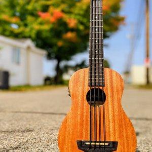 Kala Kala Nomad Acoustic-Electric U-BASS w/Gig Bag