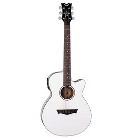 Dean Dean AXS Performer A/E Classic White Acoustic Guitar