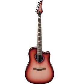 Ibanez Ibanez ALT30RCS Acoustic/Electric Guitar in Red Coral Sunburst