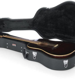 Gator Gator Deluxe Wood Case for Dreadnought Guitars