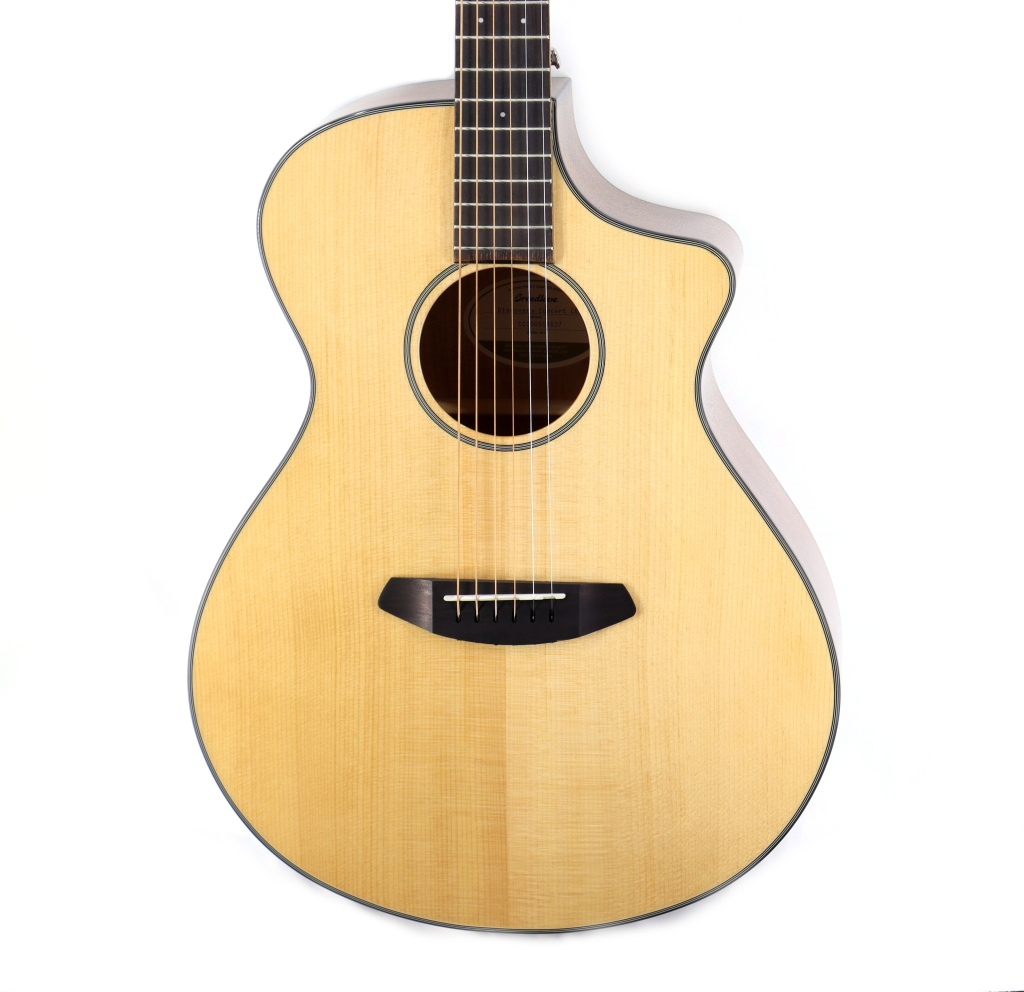 Breedlove Breedlove Discovery Concert CE Sitka-Mahogany w/Gig Bag