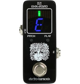 Electro-Harmonix Electro-Harmonix EHX-2020 Tuner Chromatic tuner pedal for guitar & bass, 9.6DC-200 PSU included