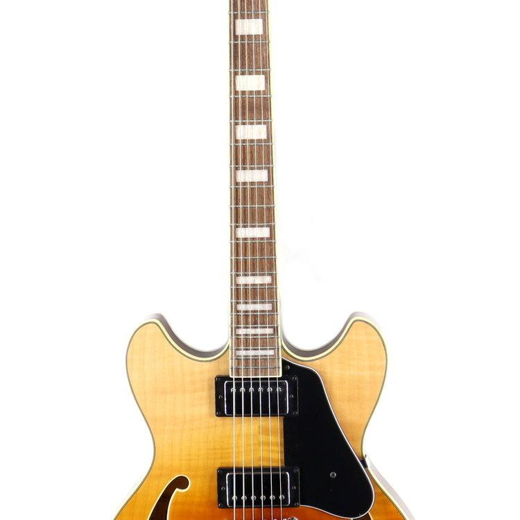Ibanez Ibanez AS73FMTAF AS Artcore 6str Hollow Body Electric Guitar - Transparent Autumn Fade