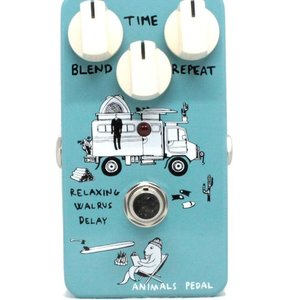 Animals Pedals Animals Pedals Relaxing Walrus Delay Pedal