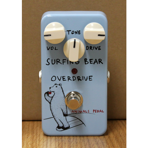 Animals Pedals Animals Pedals Surfing Bear Overdrive Pedal