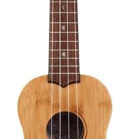 Luna Luna Ukulele Bamboo Soprano w/Gig Bag