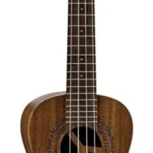 Luna Guitars Luna Uke MALUHIA Peace Concert w/Gigbag
