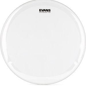 "Evans Evans 22"" EQ3 Clear Bass Batter Head"