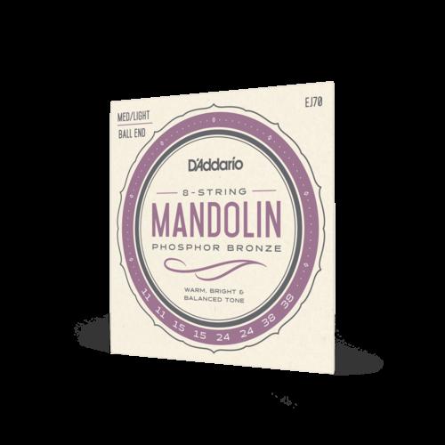 D'Addario D'Addario Mandolin Strings Medium/Light 11-38