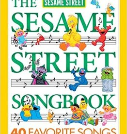 The Sesame Street Songbook - 40 Favorite Songs  for Piano/Vocal/ Guitar