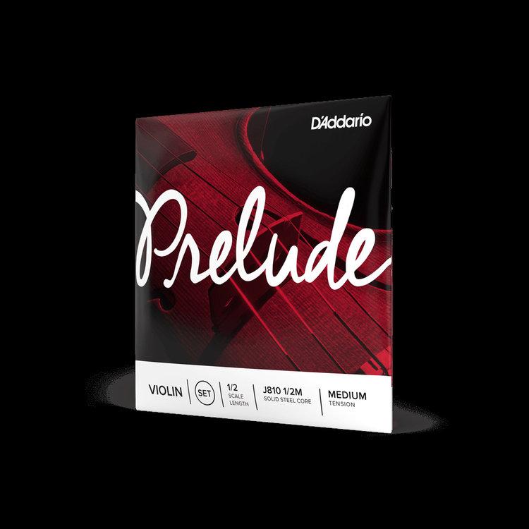 D'Addario D'Addario Prelude Violin String Set, 1/2 Scale, Medium Tension