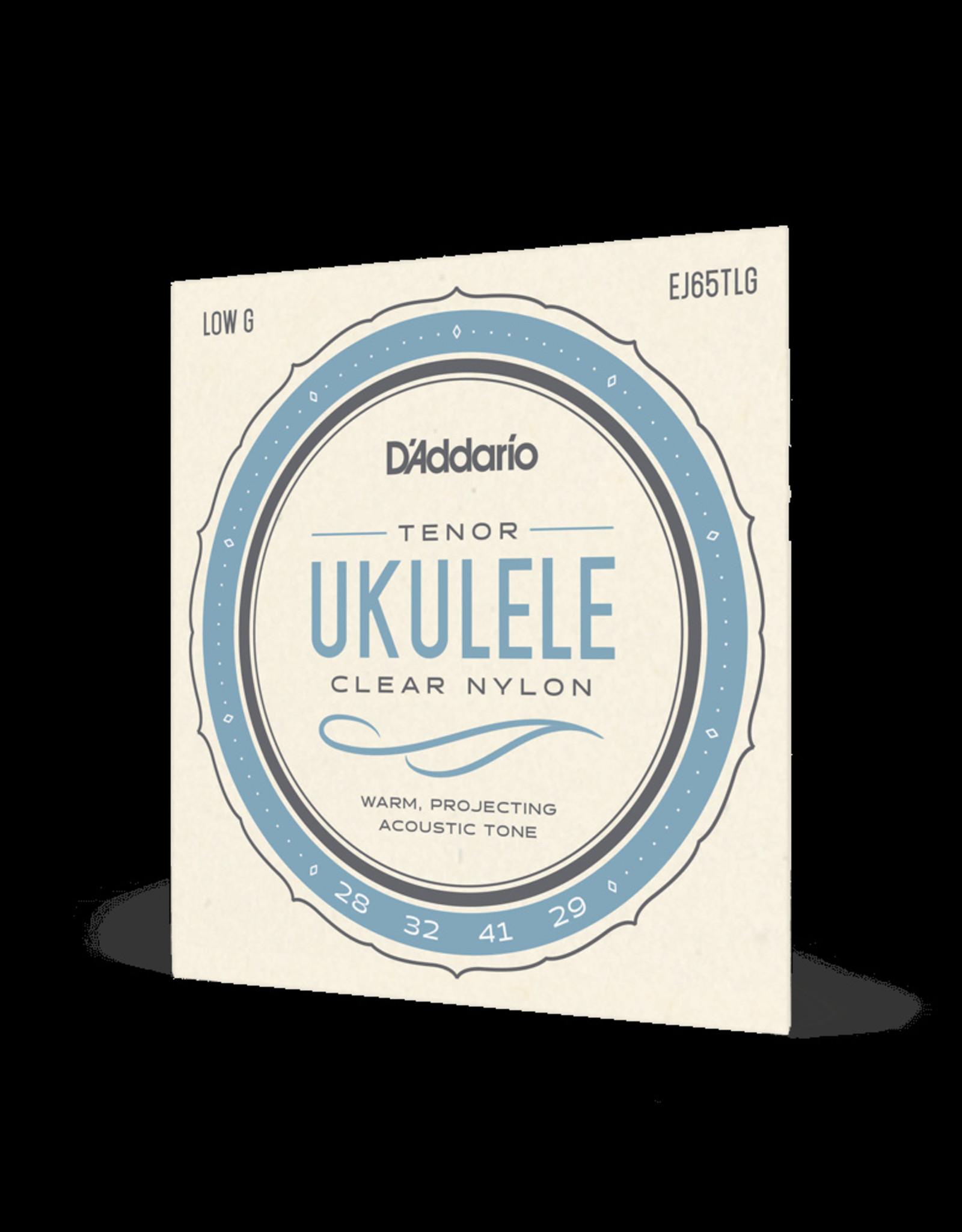 D'Addario D'Addario Pro-Arté Custom Extruded Ukulele Strings, Tenor Low G