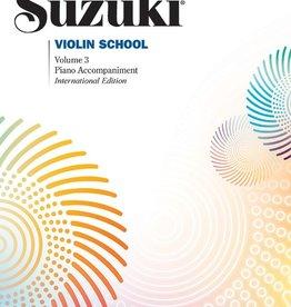Alfred Alfred Suzuki Violin Method 3 - Piano Accompaniment