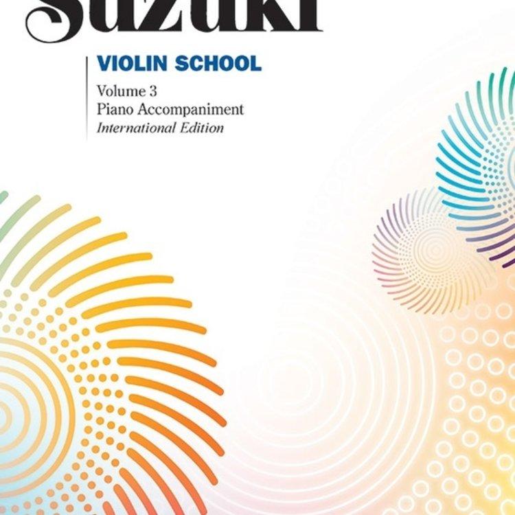 Alfred Music Alfred Suzuki Violin Method 3 - Piano Accompaniment