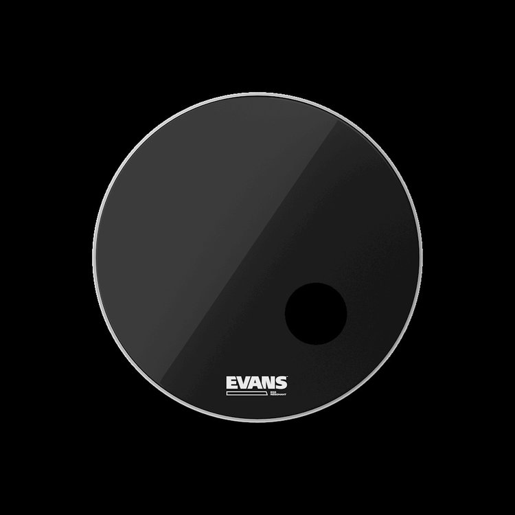 Evans Evans EQ3 Black Bass Drum Head