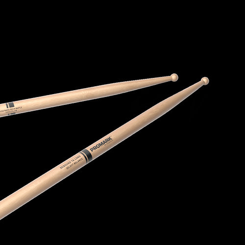 Promark ProMark Finesse 5A Long Maple Drumstick, Small Round Wood Tip