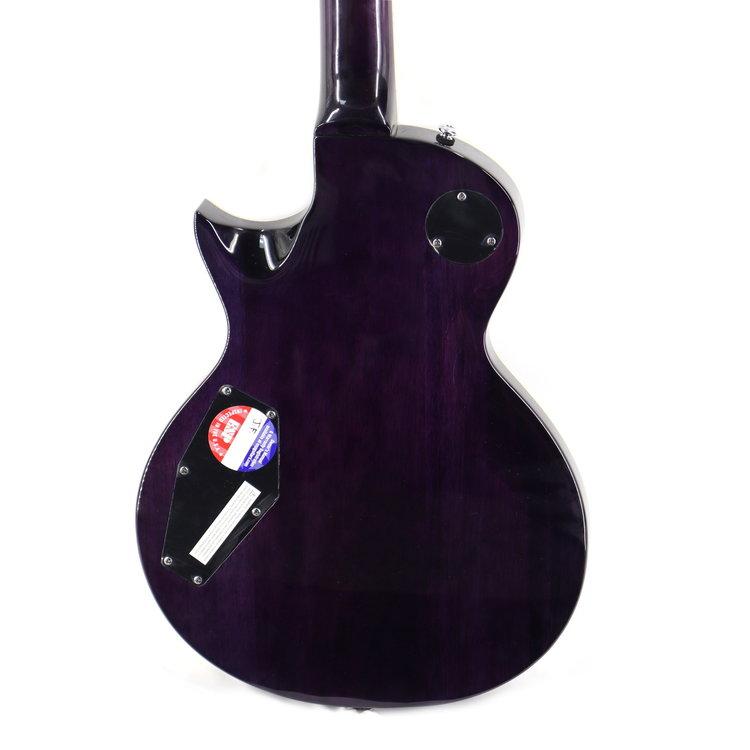 LTD LTD EC-256FM See Thru Purple Sunburst