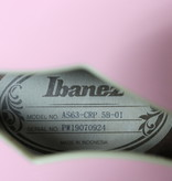 Ibanez Ibanez AS63CRP AS Artcore Vibrante 6str Electric Guitar - Coral Pink