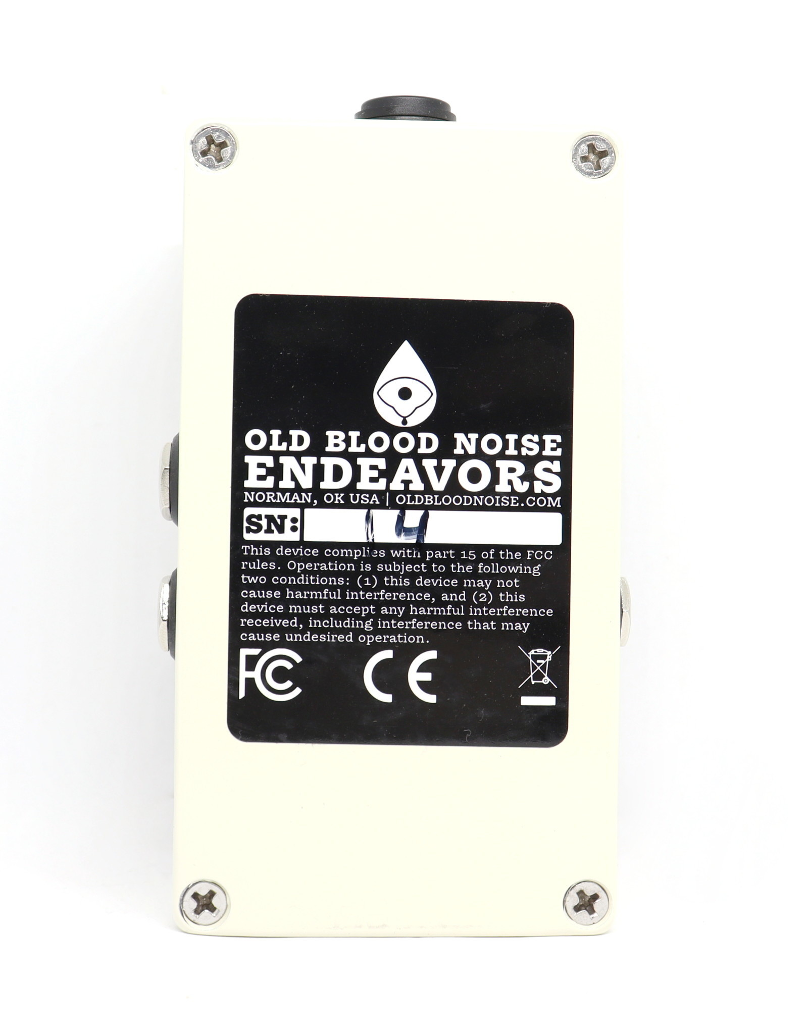 Old Blood Noise Endeavors Old Blood Noise Endeavors Black Fountain Oil Can Delay V3 w/Tap Tempo