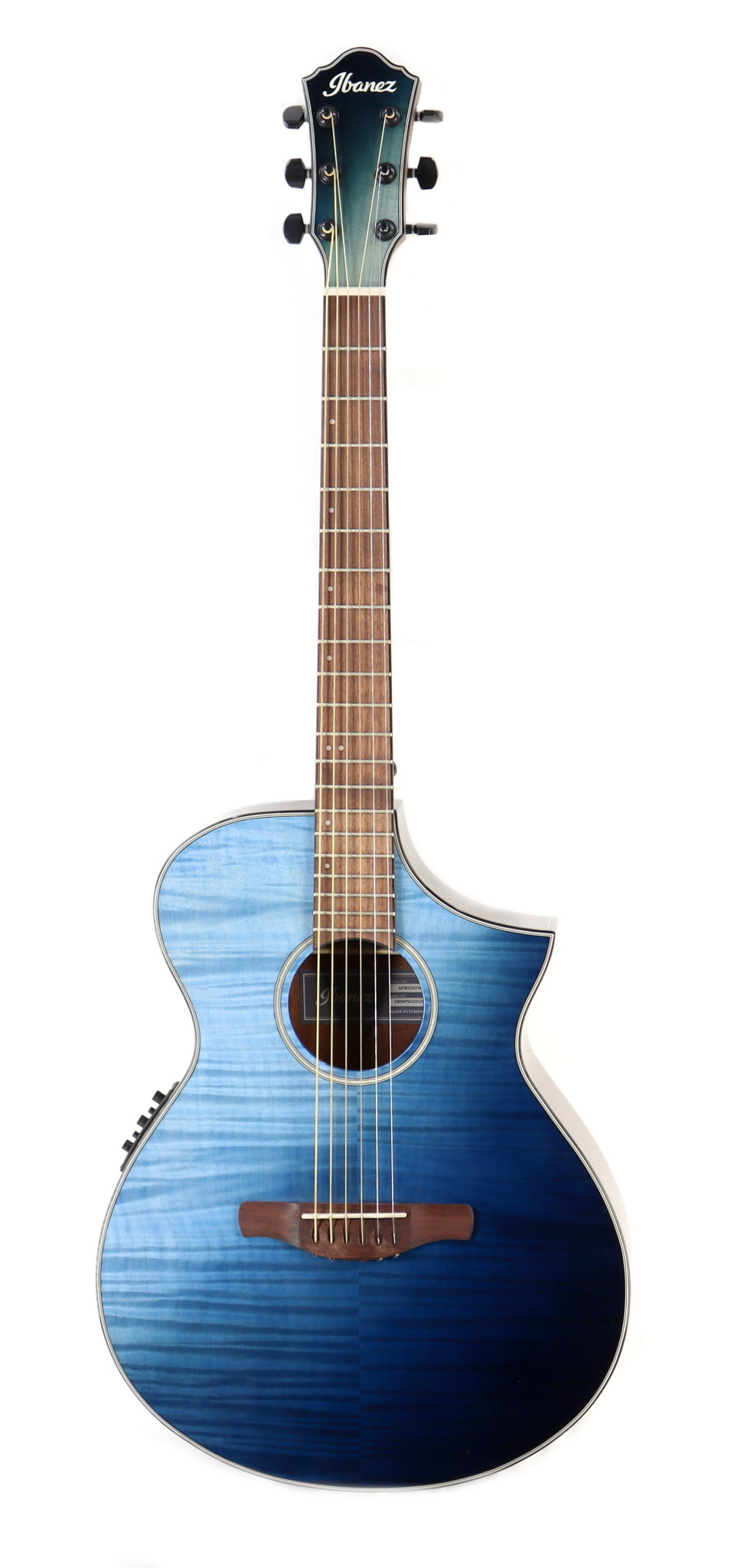 Ibanez Ibanez AEWC32FMISF Acoustic Guitar in Indigo Sunset Fade High Gloss