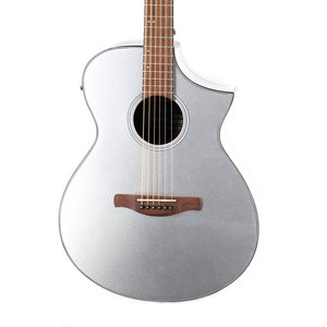 Ibanez Ibanez AEWC10SM Acoustic Guitar in Silver High Gloss